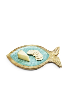 Two's Company Shimmering Scales Fish Tray - Alternate List Image