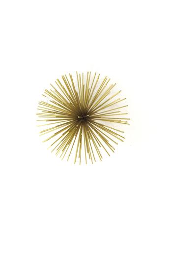 Shoptiques Product: Small Gold Starburst - main