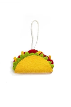 Two's Company Taco Ornament - Product List Image
