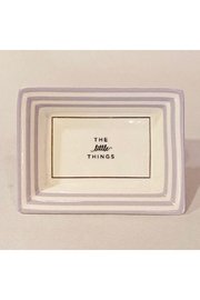 """Two's Company """"The Little Things"""" Petite Saying Tray - Product Mini Image"""