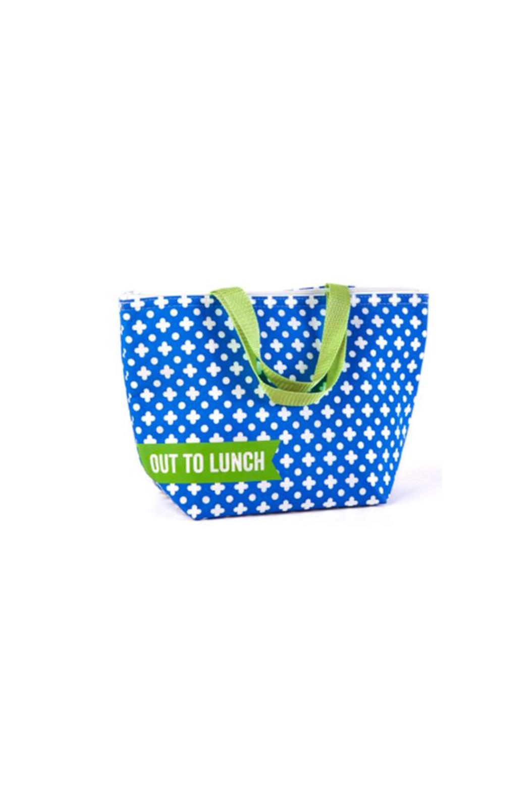 Two's Company Thermal Lunch Tote - Front Cropped Image