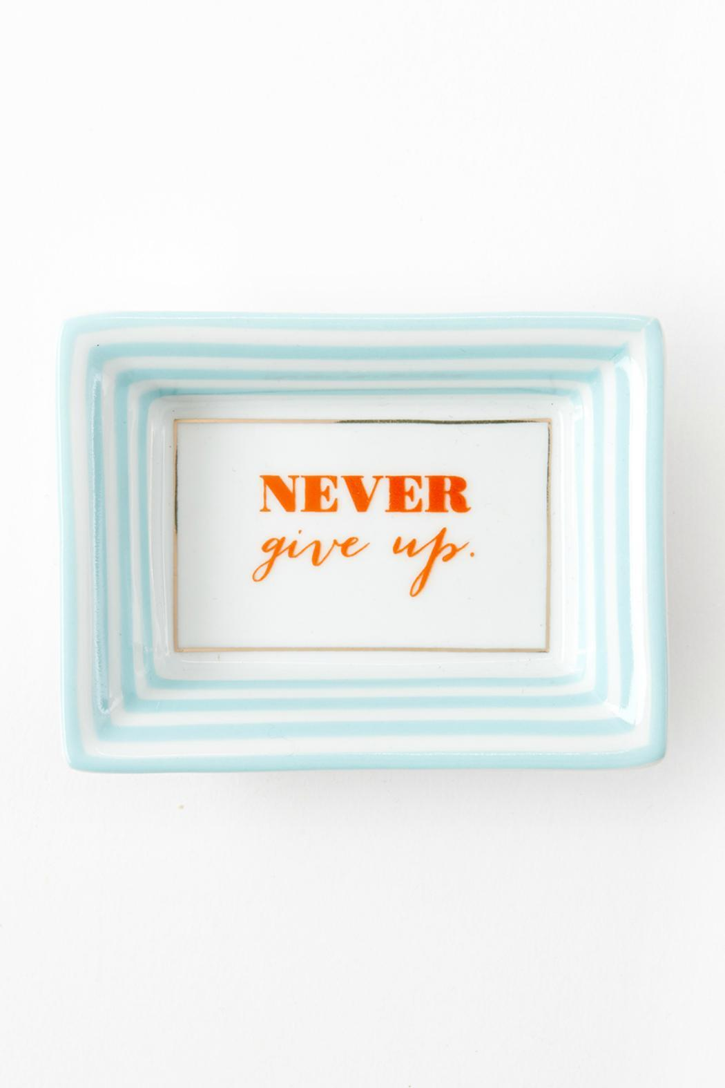Two's Company Never Give Up Tray - Main Image