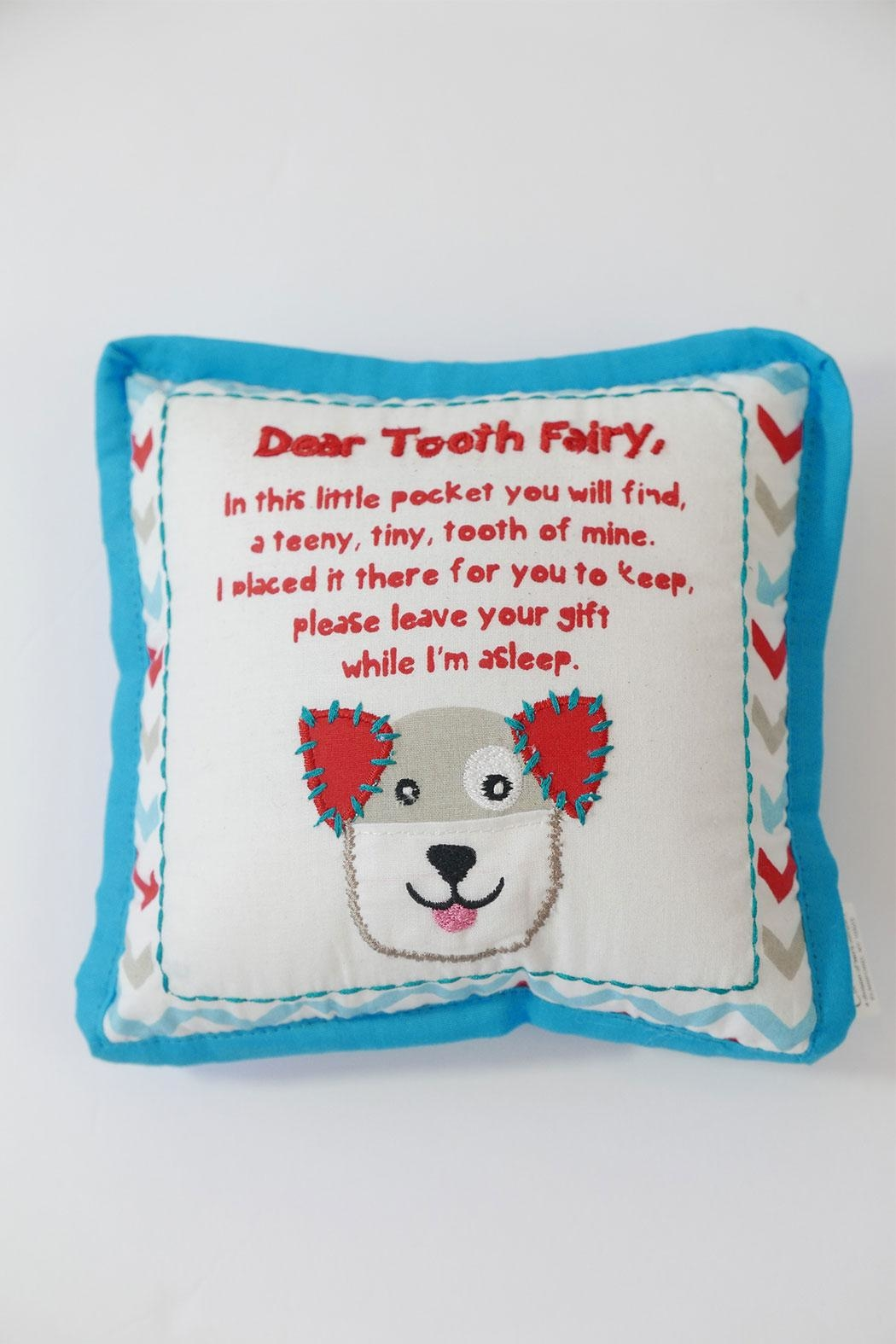 Two's Company Tooth Fairy Pillow - Main Image