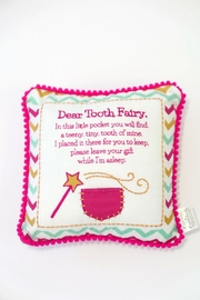 Two's Company Tooth Fairy Pillow - Front cropped