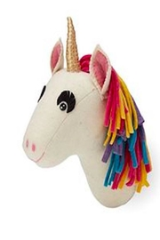 Two's Company Unicorn Wall Mount - Front cropped