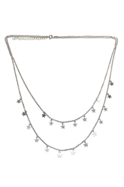 Lets Accessorize Two-Tier Star Necklace - Product Mini Image