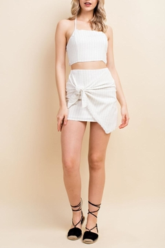 Shoptiques Product: Two-Timin' Crop Top