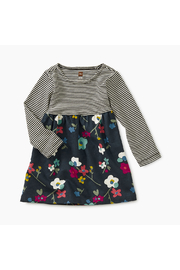 Tea Collection Two-Tone Baby Dress - Front cropped
