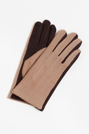 Look by M Two-Tone Cashmere Gloves - Product Mini Image