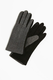 Look by M Two tone Cashmere gloves - Product Mini Image