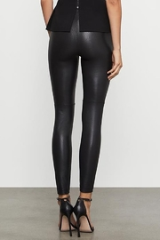 BCBG Max Azria Two Tone Coated Leggings - Front full body