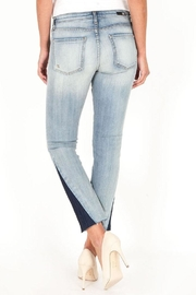 Kut from the Kloth Two Tone Denim - Side cropped