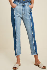 Hayden Los Angeles Two-Tone Denim Jeans - Product Mini Image