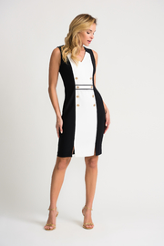 Joseph Ribkoff Two Tone Dress - Product Mini Image