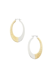House of Atelier Two Tone Earrings - Product Mini Image