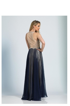 Dave and Johnny Two Tone Gown - Product List Image