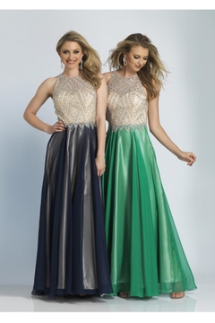 Dave and Johnny Two Tone Gown - Alternate List Image
