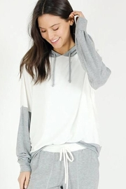 Six Fifty Two Tone Hoodie - Product Mini Image