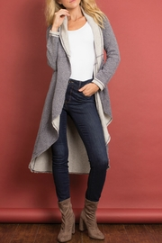 Simply Noelle Two-Tone it Down Long Jacket - Product Mini Image