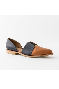 Fortress of Inca Two-Tone Leather Loafer - Alternate List Image