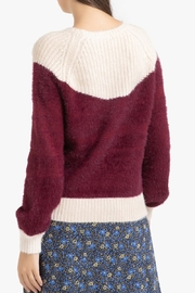 FRNCH Two-tone Nigelle Sweater - Front full body