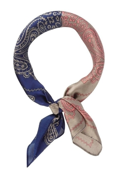 Olive & Pique Two-Tone Paisley Neckscarf - Product List Image
