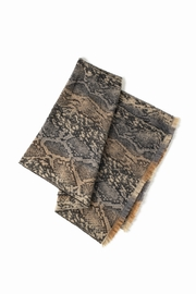Look by M Two Tone Python Scarf - Product Mini Image
