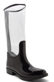 Thistle & Clover  Two Tone Rainboot - Front cropped