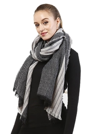 Lets Accessorize Two-Tone Scarf - Product Mini Image