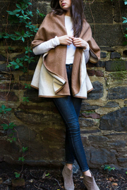 Look by M Two tone shawl vest - Product Mini Image