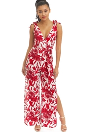 luxxel Two-Tone Ties Jumpsuit - Product Mini Image