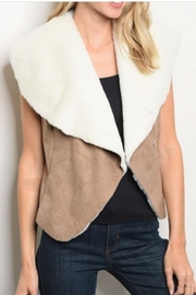 Roly Poly Two-Tone Vest - Product Mini Image