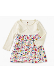 Tea Collection Two-Toned Baby Dress - Front cropped