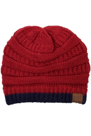 CC Beanie Two-Toned Beanie - Product Mini Image