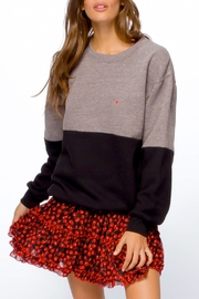 sub_urban Riot Two-Toned Crewneck Sweatshirt - Product Mini Image