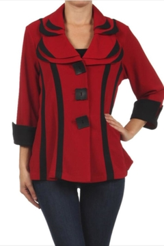 Come N See Two Toned Jacket - Alternate List Image