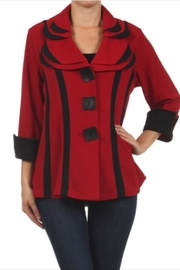 Come N See Two Toned Jacket - Product Mini Image