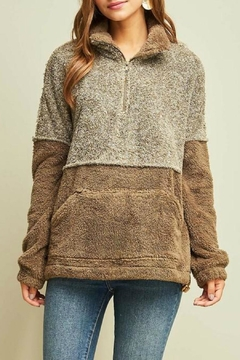 Trend:notes Two Toned Sherpa - Alternate List Image
