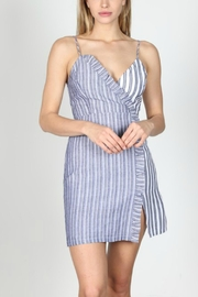essue Two-Toned Striped Dress - Product Mini Image