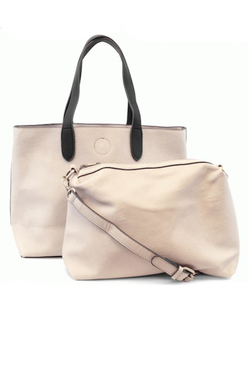 Joy Susan Accessories Two-Toned Tote - Front Full Image