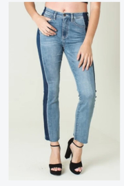 Funky Soul Two wash denim pants - Front cropped
