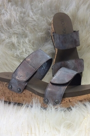 Corkys Two-Way Wedge - Front cropped