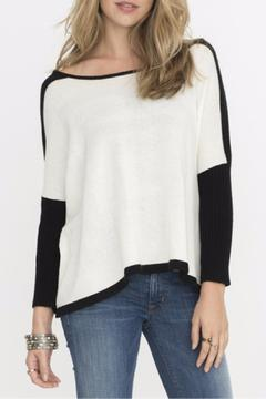 Shoptiques Product: White Colorblocked Sweater