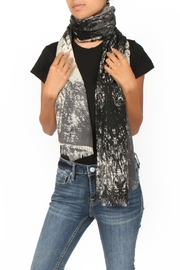 Two Danes Wool Graphic Scarf - Product Mini Image