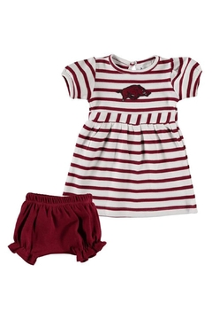 TWO FEET AHEAD Arkansas Razorback Dress - Alternate List Image