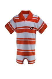 TWO FEET AHEAD Virgina Tech Romper - Product Mini Image