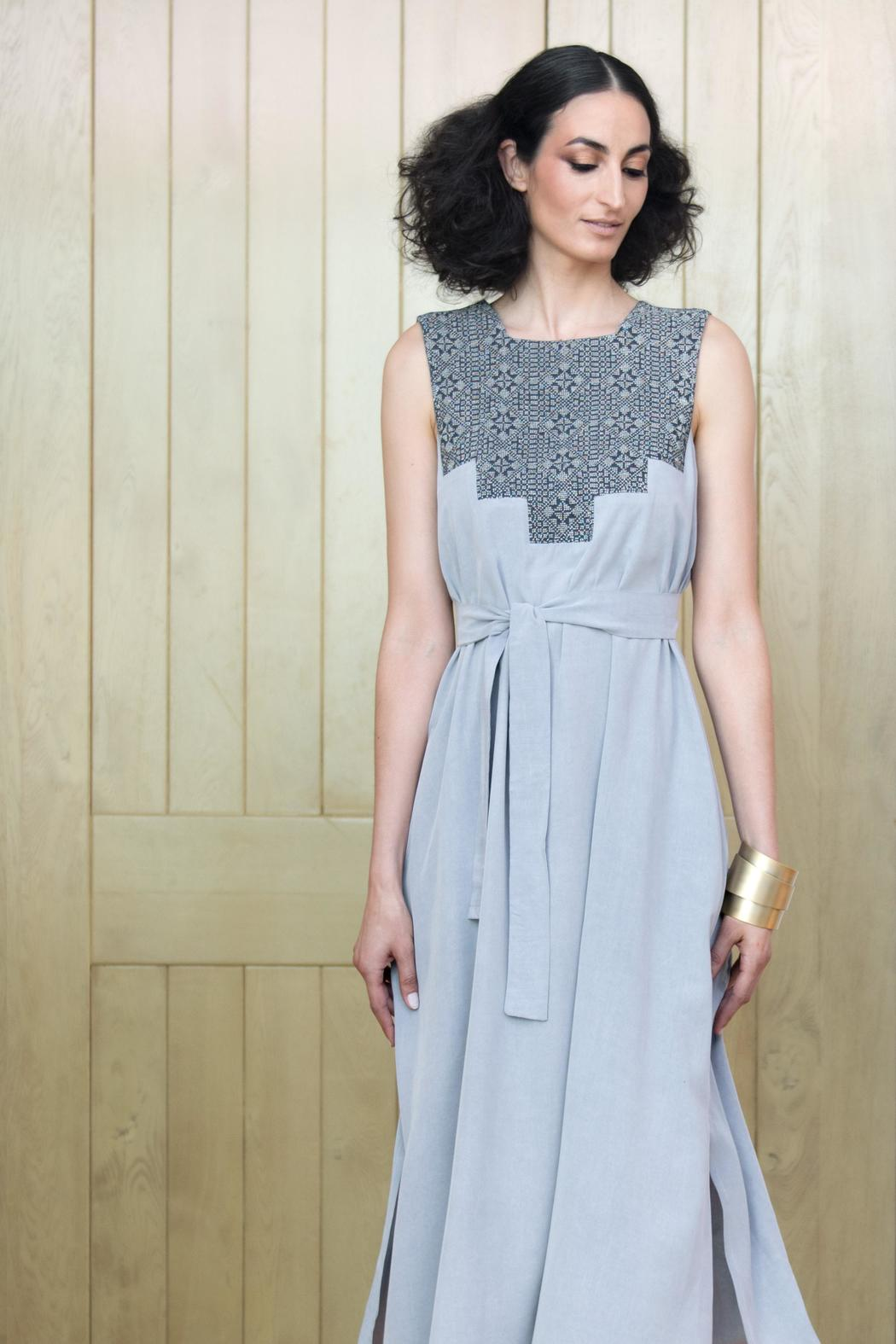 Two Neighbors Amira Long Gown - Front Full Image