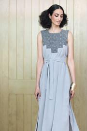 Two Neighbors Amira Long Gown - Front full body