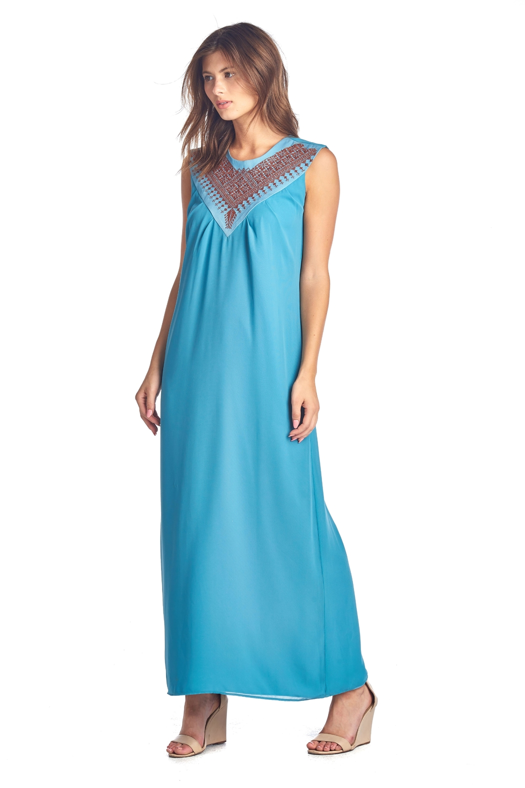 Two Neighbors Nur Maxi Dress - Side Cropped Image