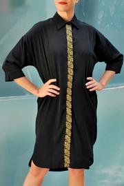 Two Neighbors Shirt Dress Tunic - Front cropped